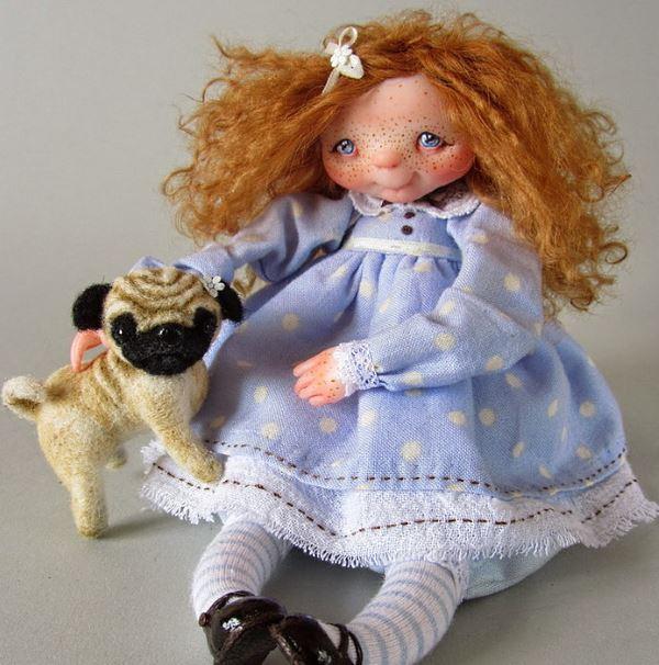 Фарфоровые куклы Ксении Зайцевой