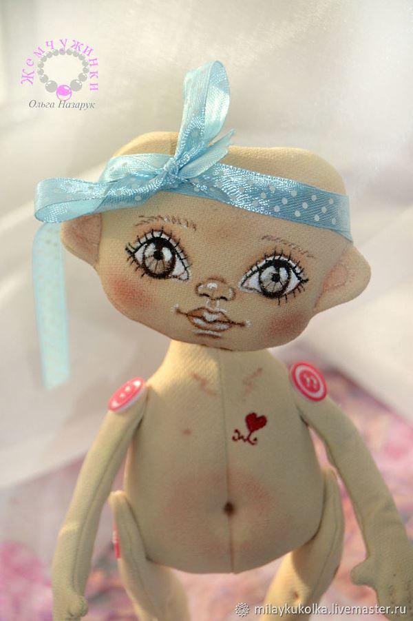текстильная кукла выкройки и фото